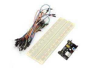MB102 Solderless PCB Breadboard Power Supply Module Jumper Cable Wire Set