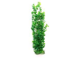 "19.3"" High Green Aquascaping Aquatic Grass Plant Aquarium Decor w Ceramic Base"