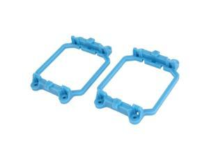2 Pcs AMD CPU Fan Retention Bracket Single Module Base Blue for AM2 940 Socket