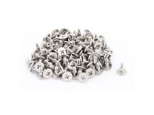 PC Computer Case HDD Phillips Flat Head Bolts Hard Drive Mounting Screws 100pcs