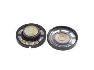 2pcs 0.25W 8 Ohm Toy Interphone 29mm Dia External Magnet Speaker Loudspeaker