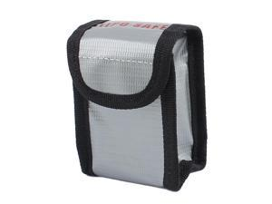 Lipo Battery Fireproof Bag Storage Guard Safe Charging Holder 64mm x 50mm x 95mm