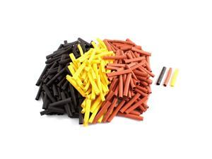 Unique Bargains 300pcs 6mm Dia 2:1 Heat Shrink Tubing Shrinkable Tube Insulated Cover Cable Wrap