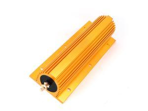 500W Power 10 Ohm Screw Tap Mounted Aluminum Housed Wirewound Resistor