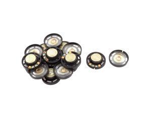 16pcs Radio Interphone 27mm External Magnetic Speaker Loudspeaker 8 Ohm 0.25W