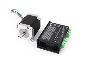 60HS7640A4 2 Phase Mill Robot Lathe CNC Stepper Motor 4A + MB450A Motor Driver