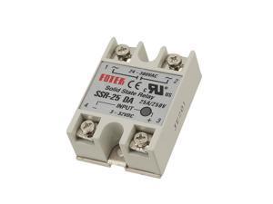 250V 25A SSR-25DA Temperature Control Solid State Relay
