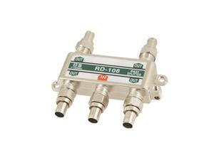 Coaxial Cable Connector 1 In 4 Out CATV Signal Splitter