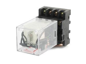AC 110V Coil Voltage 11 Pin 3PDT 3NO 3NC Electromagnetic Power Relay