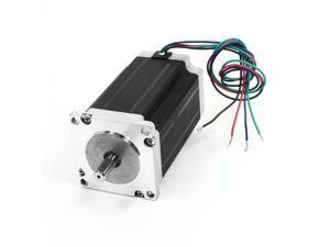 Nema 23 4 Wire 1.8 Degree CNC Stepping Stepper Motor 100mm 4.2A 354oz.in