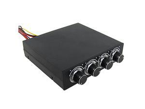 Adjustable 4 Channel Fan Speed Controller for Computer