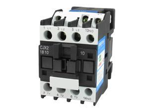Motor Control AC Contactor AC-3 7.5KW 32A 3P 3 Pole 110 Volts Coil CJX2-1810