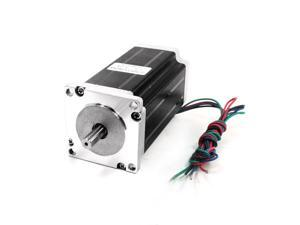 Nema23 CNC Router Hybrid Stepping Stepper Motor 112mm 4.2A 397oz.in