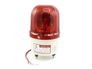 DC24V 10W Industrial Safety Red Indicating Rotating Flash Warning Light