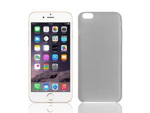 PP Material Soft Back Cover Case Protector Gray for iPhone 6Plus 5.5""