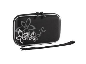 """Black EVA Carrying Case Cover Bag Pouch Zip-up Wallet for 2.5"""" Hard Drive Disk"""