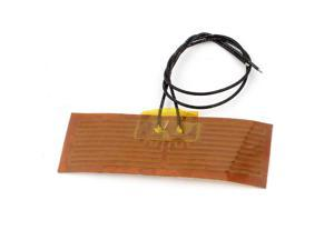 24V 32W Polyimide Flexible Adhesive Thermo Foil Heater Heating Film 87mm x 30mm