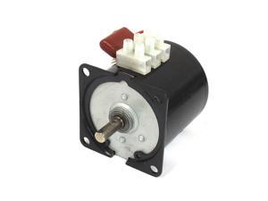 AC 220V 10RPM 50Hz Electric Machine Gear Motor 60KTYZ w Capacitor