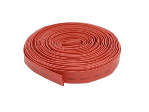 10mm Dia Ratio 2:1 Heat Shrinkable Tube Shrink Tubing 10M Red