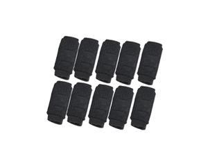 Unique Bargains 10Pcs Sports Gear Compression Basketball Finger Sleeves Protector Support for Men
