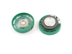 2 Pieces 0.25W 8Ohm 29x9mm Magnetic Electronic Speaker Loudspeaker Replacement