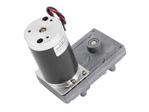 DC12V 70RPM High Torque Brushless DC Worm Gear Box Motor Speed Reducer