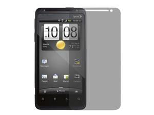 Clear Gray Privacy Screen Protectors Shield Guard Film for HTC EVO 4G