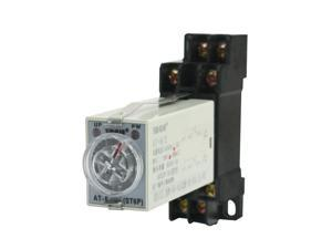 Panel Mounted AC 110V 5A 8Pin DPDT 10s Power on Time Delay Timer Relay
