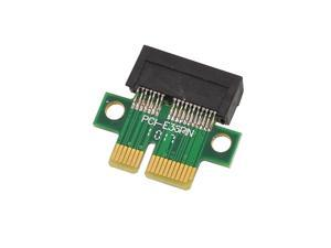 Unique Bargains PC Computer PCI-E 1X Male to Female Adapter Connector Adaptor