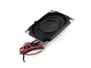 Double Wires 1.5W 1.5 Watt 8 Ohm Internal Magnet Speaker 27mm x 20mm