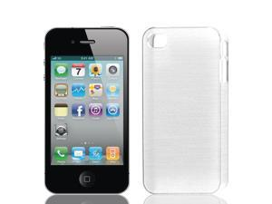 Hard Plastic Back Case Cover Guard Shell White for Apple iPhone 4 4S 4G 4GS 4th