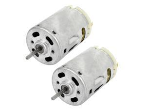 2Pcs DC12V 25000RPM Output Speed Electric Magnetic DC Motor for Hair Dryer