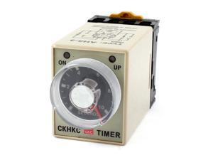 DPDT Knob Control 10Sec Power off Time Delay Relay Timer AC 110V 8 Pin