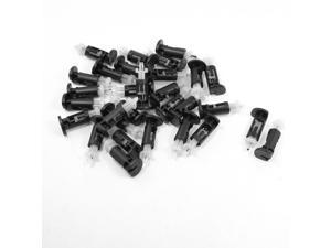 30 Pcs Plastic Mounting Clip for Intel 4 Way CPU Coolers