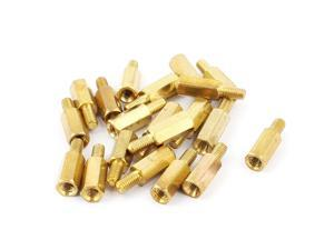 Motherboard M3 10mm+6mm Male to Female Brass Hex Standoff Spacers Pillars 20Pcs
