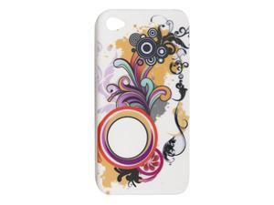 Colors Hard Plastic Back Protector Case for iPhone 4 4G