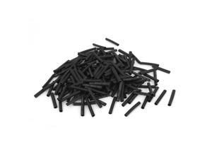 Unique Bargains 600pcs 3mm Dia Polyolefin 2:1 Heat Shrink Tubing Shrinkable Tube Wrap Wire 30mm