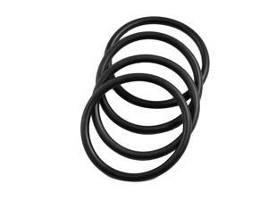 4 Pcs 45mm x 3.5mm x 38mm Rubber Oil Sealing O Rings for Mechanical