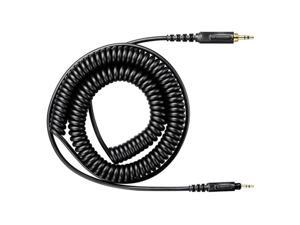 Replacement Coiled Cable SHURE HPACA1 SRH440 SRH840 SRH940 SRH750DJ Headphones