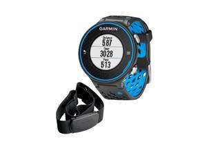 Garmin Forerunner 620 GPS Running Watch with Heart Rate Monitor Black/Blue 010-01128-30