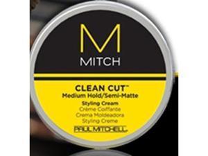 Paul Mitchell MITCH Clean Cut Medium Hold/Semi-Matte Styling Cream .35oz - Travel Size