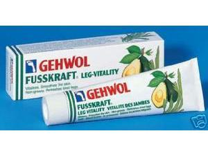 Gehwol Fusskraft Leg Vitality Cream 125 ml
