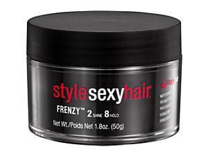 Style Sexy Hair Frenzy Matte Texturizing Paste - 1.8 oz Paste