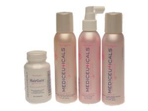 Mediceuticals W Chemically Processed Hair Formula Kit with Nutrition