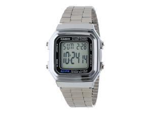 Casio Classic Men's Watch, Digital, Metal Bracelet #A178WA-1ACR
