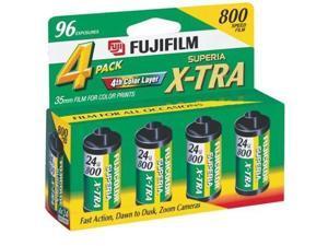 Fuji Film Superia X-tra 800 Speed 35mm (1 Box 96 exposures)