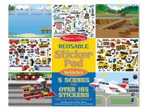 Melissa & Doug Vehicles Reusable Sticker Pad