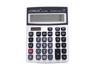 JOINUS JS-839 Dual Power 12 Digit Calculator