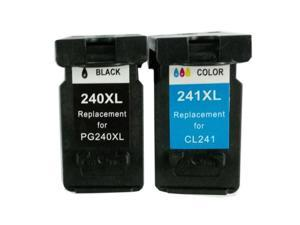 Superb Choice® Remanufactured ink Cartridge for Canon PG-240XL(Black)/CL-241XL(Color) use in Canon Pixma MG3520 Printer