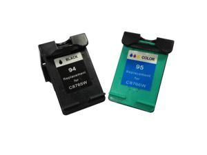 Superb Choice® Remanufactured ink Cartridge for HP 94/95(Black/Color) use in HP Photosmart 7850 Printer